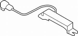 Hyundai Sonata Antenna  Keyless Entry Antenna  Front