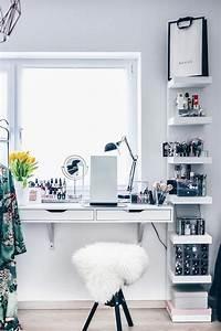 Nagellack Regal Ikea : meine neue schminkecke inklusive praktischer kosmetikaufbewahrung apt pinterest ~ Markanthonyermac.com Haus und Dekorationen