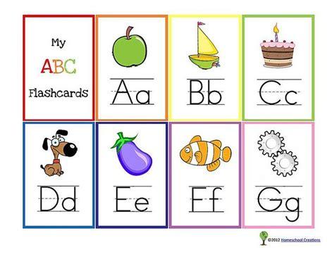 sets  printable alphabet flashcards  images
