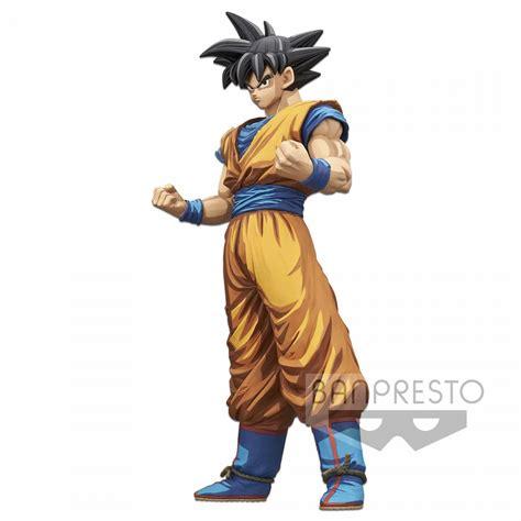 banpresto dragon ball  figure grandista son goku manga