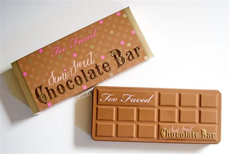 semi sweet chocolate too faced semi sweet chocolate bar palette review and swatches honeygirl s world lifestyle