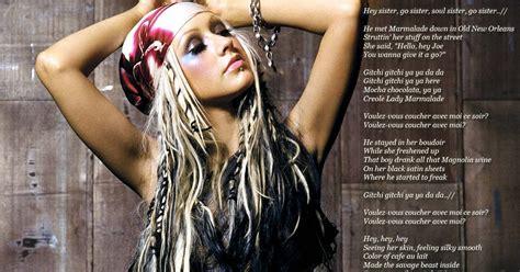 lyrics wallpapers labelle lady marmalade