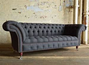 Sofa Chesterfield Style : nuvo wool chesterfield sofa abode sofas ~ Cokemachineaccidents.com Haus und Dekorationen