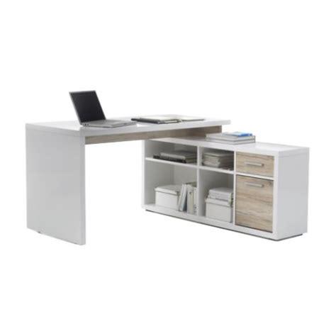 bureau angle droit bureau avec console 140 cm bureaux droits d