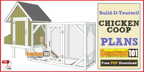 chicken coop plans  chicken run instant