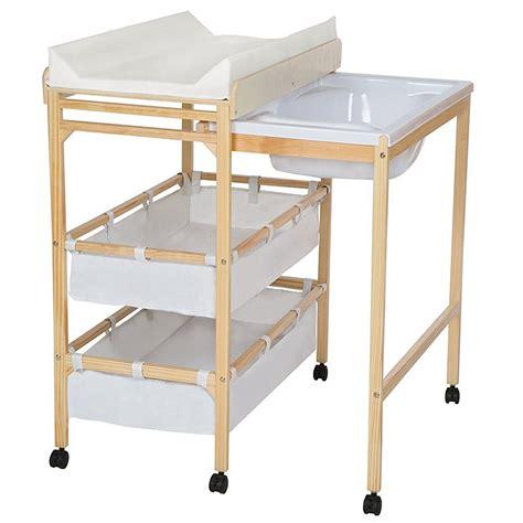 planche a langer pour baignoire la commode 224 langer avec baignoire tectake table a langer org
