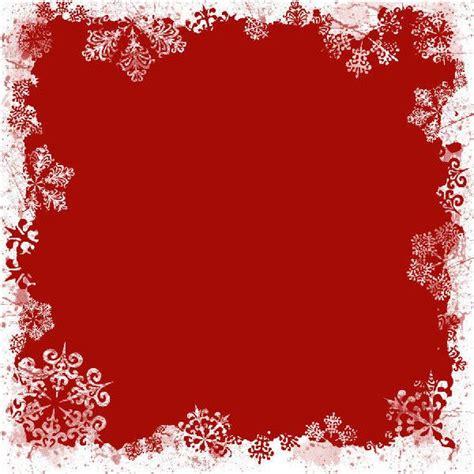 Free Red Snowflake Border