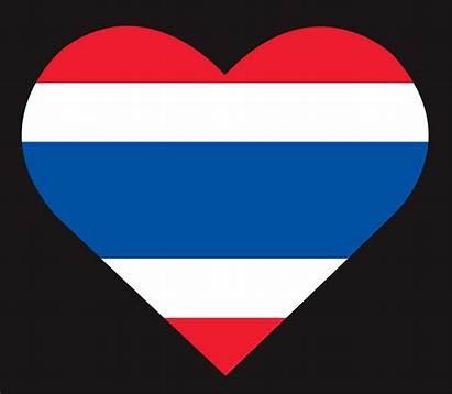 Flag Thailand Thai Vector Icon Clipart Graphics