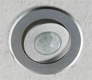 Einbaustrahler Mit Bewegungsmelder : decken einbau bewegungsmelder 360 alu led geeignet 6m ~ Watch28wear.com Haus und Dekorationen