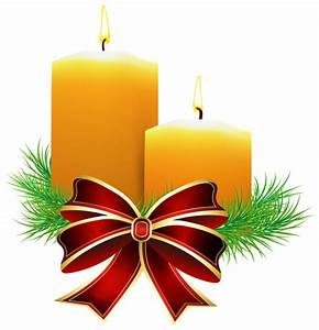 Christmas Candles Transparent PNG Clip Art Image ...