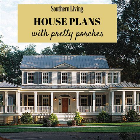 southern style house plans with porches pretty house plans with porches front porches porch and