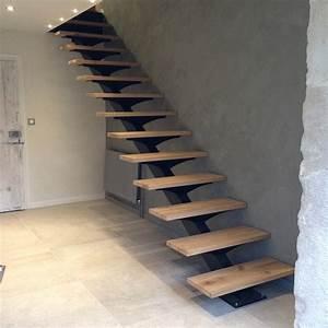 Escalier Droit Bois : escalier m tallique lyon escalier m tal villefranche ~ Premium-room.com Idées de Décoration