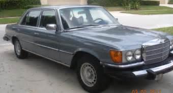 Classic Vintage 1979 Mercedes Benz 450 Sel 4 Door Sedan