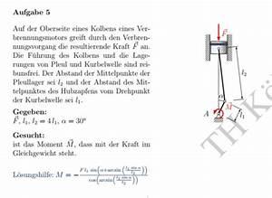 Brechungswinkel Berechnen : kolben eines verbrennungsmotors wie kann ich den hebelarm bestimmen nanolounge ~ Themetempest.com Abrechnung