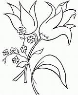 Border Corner Library Clipart Easter Coloring Flower sketch template