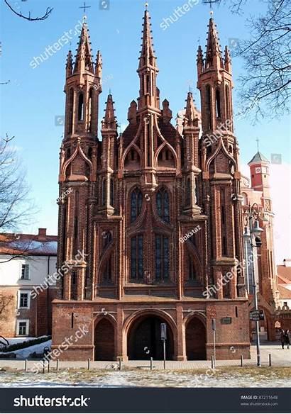 Lithuania Vilnius Famous Churches Capital Shutterstock