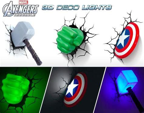 marvel avengers 3d wall lights craziest gadgets