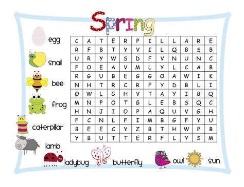 easy word searches for kids activity shelter