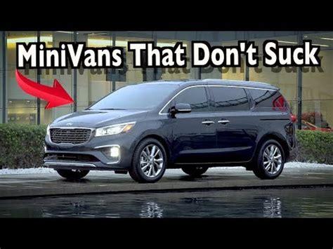 reliable minivans   youtube