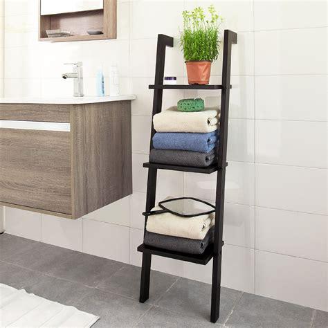 wood ladder shelf 11 best bathroom ladder shelves for toilet storage reviews