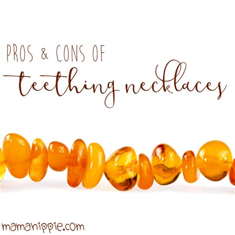 The Pros And Cons Of Teething Necklaces Mama Hippie