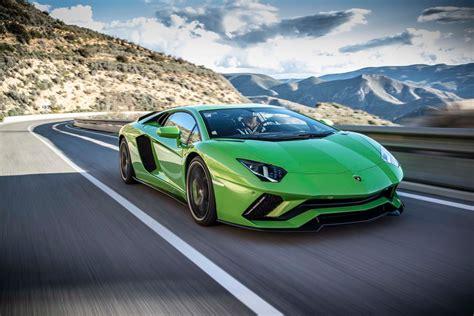 Best Lamborghini Pictures by 2018 Lamborghini Aventador S Front Three Quarter In Motion