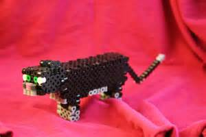 Minecraft Ocelot Perler Bead