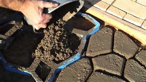concrete paving stones youtube