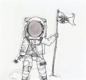 Astronaut Drawing