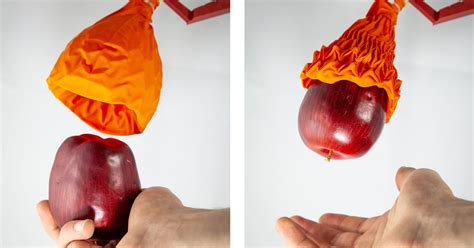 this robot gripper looks like a wilted flower but it can lift 100 times its weight the verge
