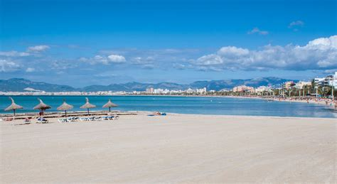 playa de palma  km strand och naerhet  palma stad