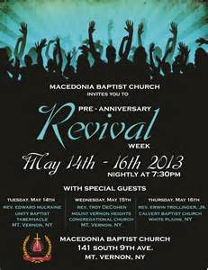 Church Anniversary Revival