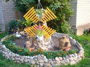 With moulin a vent decoration jardin 12 decoration jardin en objets de recuperation en 31 idees