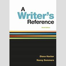 A Writer's Reference (9781319057442)  Macmillan Learning