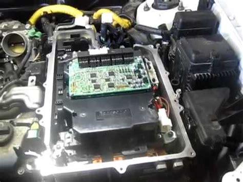 toyota hilander hybrid inverter installation youtube