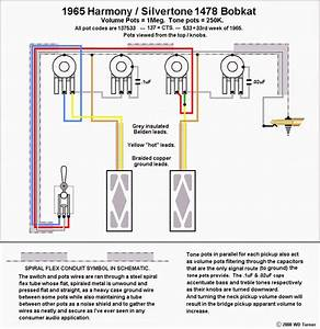 Wiring Diagram For Silvertone Fastback