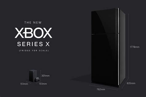 microsoft assures xbox fans   series    fact smaller   fridge  verge