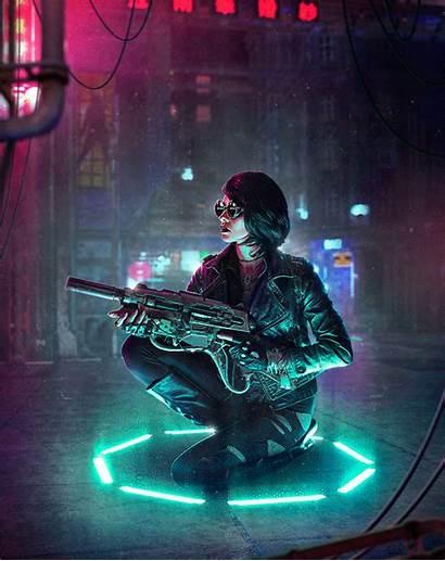 Cyberpunk Neon Artwork Lights Creating Five Tips