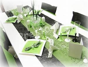 Ma decoration de mariage deco de table noir blanc anis for Salle de bain design avec décoration de table pour anniversaire 20 ans