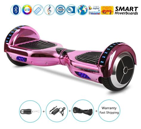 hoverboard with bluetooth speakers and led lights 6 5 quot hoverboard with bluetooth speakers bluetooth and led
