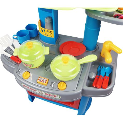Kitchen Playset Electronic Blender by Childrens Electronic Kitchen Cooking Playset