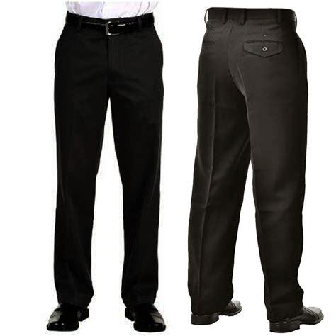 Celana Pria Be 084 jual celana panjang bahan kerja formal hitam standart