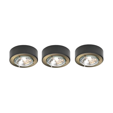 dals lighting k107r3 3 light low voltage halogen metal