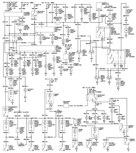 Help With Reading Electrical Schematic Beyond Car
