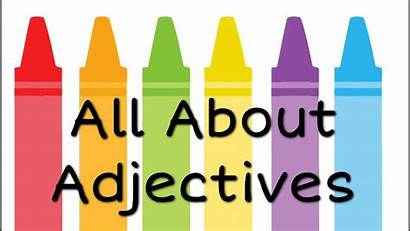 Adjectives Grammar English Lesson Grade Freeschool Kinds