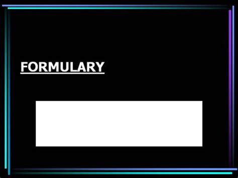 customize template formulary hospital formulary authorstream