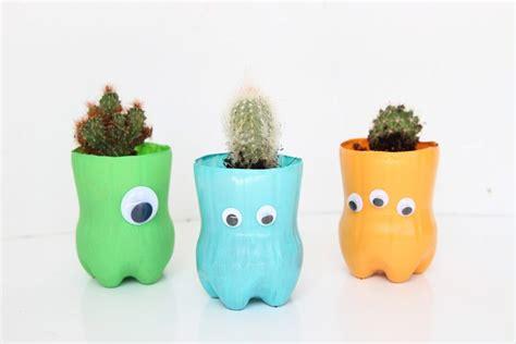plastic bottle planters   project