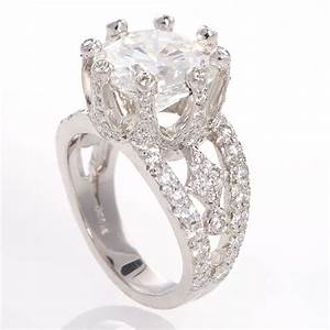 Diamond unique engagement ring ipunya for Wedding ring unique