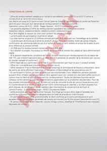 Offre De Remboursement : offre de remboursement odr 30 sur tablette lenovo a8 50 ~ Carolinahurricanesstore.com Idées de Décoration