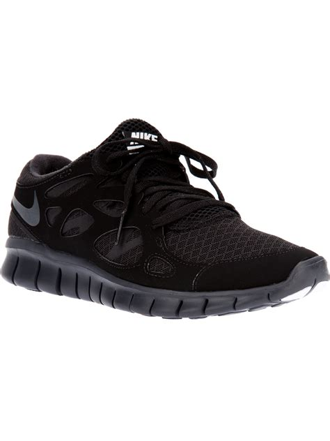 free running 2 nike free run 2 nsw trainer in black for lyst